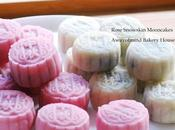 Rose Snowskin Mooncakes 玫瑰露冰皮月饼