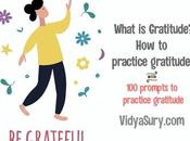 What Gratitude? Practice With Gratitude Journal Prompts