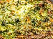 Broccoli Cheese Crustless Quiche