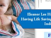 Eleanor Come Long Having Lifesaving Open-Heart Surgery India