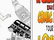 Cartoon Comic Book Tour London: Sherlock Holmes