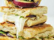 Gourmet Grilled Cheese Sandwich with Pear