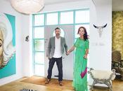 House Tour: Bright Colourful Deco Home