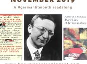 Berlin Alexanderplatz Readalong German Literature Month 2019
