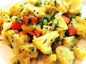 "Indian Cauliflower ""Sabji"" with Peas Carrots"