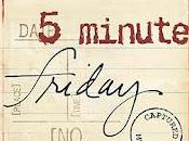 Five Minute Friday: Light