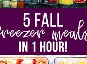 Fall Freezer Dinner Stock