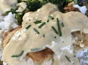 Feta Gravy Over Chicken