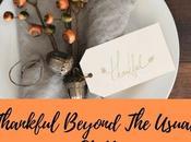 Being Thankful Beyond Usual Stuff…