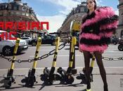 Parisian Chic STYLE Magazine with Polina Horsh Benjamin Kanarek