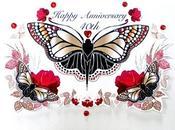 Ruby 40th Wedding Anniversary Cards