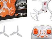 Drones Under 2000-Toy Drone Quadcopter Kids (Without Camera) (Black White)-1199.00