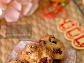 Quick Easy Milky Yummy Mini Honey Cranberry Cookies with Added Cane Sugar