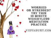 Minute Weightless Meditation When Worried Stressed