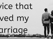 Advice That Saved Marriage
