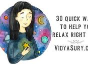 Quick Ways Help Relax Right