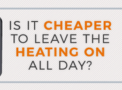 Cheaper Leave Heating Day?
