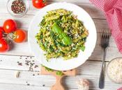 Vegetarian Pesto with Whole Wheat Pasta