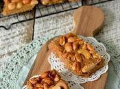 Easy Honey Cashew Bars Slices HIGHLY RECOMMENDED!!!