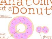 Funny Shirt Anatomy Donut