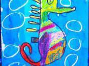 Mixed Media Seahorse