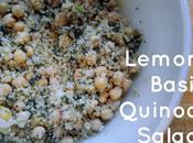 Lemon Basil Quinoa Salad