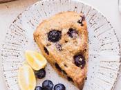 Gluten-Free Vegan Lemon Blueberry Scones