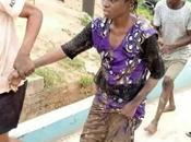 Woman Jumps Into Osun River Over Hunger Caused Lockdown (Photos)