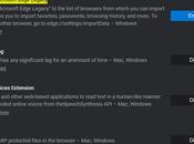 Import Data from Microsoft Edge Legacy Chromium