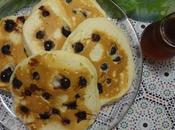 Crêpes Américaines Bleuets Blueberry Pancakes Panqueques Arandanos بانكيك بالتوت الازرق