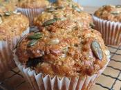 Wholesome Seeded Cranberry Muffins