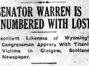 Wyoming's Senator Warren Sinks with Titanic!! (but Re-elected Anyway)