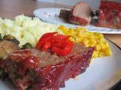 Diner Style Glazed Meatloaf