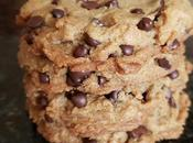 Soft, Golden, Oh-So-Peanut Buttery Chocolate Chip Cookies {vegan}