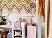 House Tour: British Artist's Stunning London Home with Fresh, Pastel Hues Colourful Wall Murals