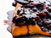 Salmon with Strawberry Balsamic Reduction