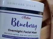 Antheia Essentials Blueberry Overnight Hydrating Facial Mask Review