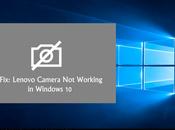 Lenovo Camera Working Windows (Fixed)