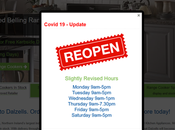 'Slightly' Revised Hours Business