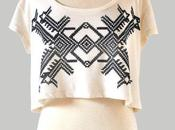 Wishlist: Hand Screen Printed Top. Really Like Simple...