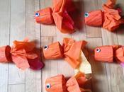 About Packaging: Crepe Paper Goldfish