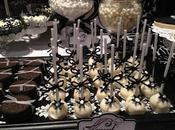 Black White Elegant Table 18th Birthday