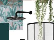 Amelia's Lush Pink Teal Tropical Bathroom Scheme Reveal