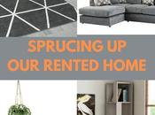 Sprucing Rented Home