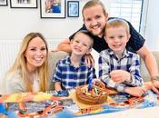 Celebrating Logan's Birthday Home