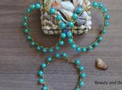 DIY: Handmade Gold Turquoise Jewelry