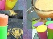Pineapple-Orange Sherbet Popsicles