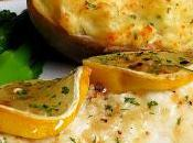 Lemon Garlic Butter Baked