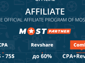 MostBet Partners Affiliate Program Review 2020 Make Money With Betting Offers
