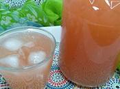 Limonade Pamplemousse Grapefruit Lemonade Limonada Pomelo شراب الزنباع (الليمون الهندي)